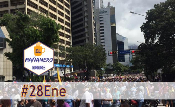 El Mañanero de hoy #28Ene: Las 8 noticias que debes saber