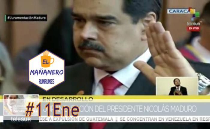 El Mañanero de hoy #11Ene: Las 8 noticias que debes saber