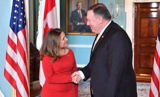 Estados Unidos y Canadá hablaron sobre crisis en Venezuela