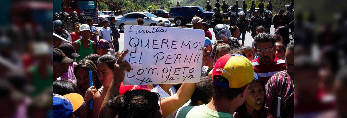 Termómetro de la Calle: La protesta por el pernil se cocinó sin gas doméstico