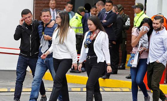 Aumentó a 21 la cifra de muertos por atentado en Bogotá