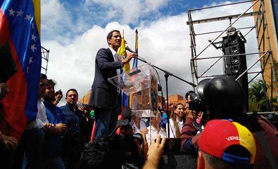 Juan Guaidó: Tenemos tres puntos de acopio para la ayuda humanitaria