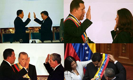 """Las juramentaciones del chavismo comenzaron con """"la moribunda"""" y ya van por una usurpación"""