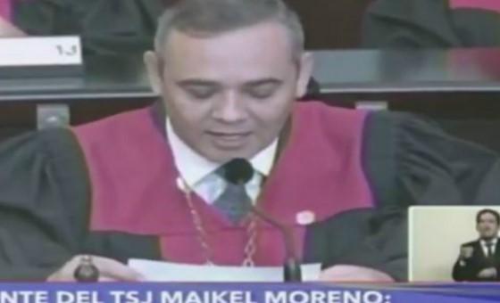 Maikel Moreno rechaza amenazas de Mike Pence contra el Poder Judicial venezolano