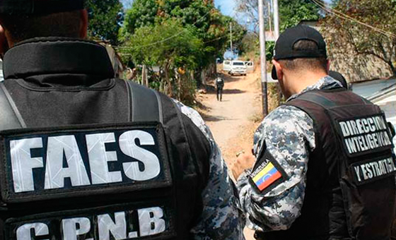 """Las FAES de nuevo hacen """"operación tun tun"""" en barrios caraqueños"""