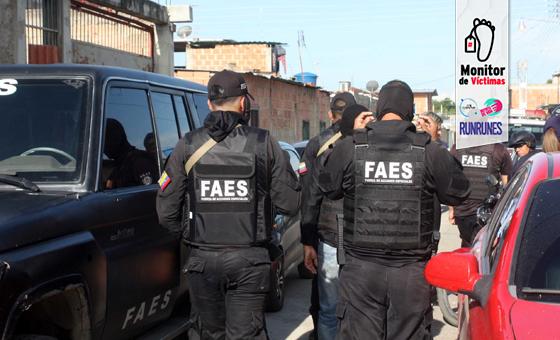 #MonitordeVíctimas | Con cinco asesinatos en Las Mayas, las FAES suman una masacre a su prontuario