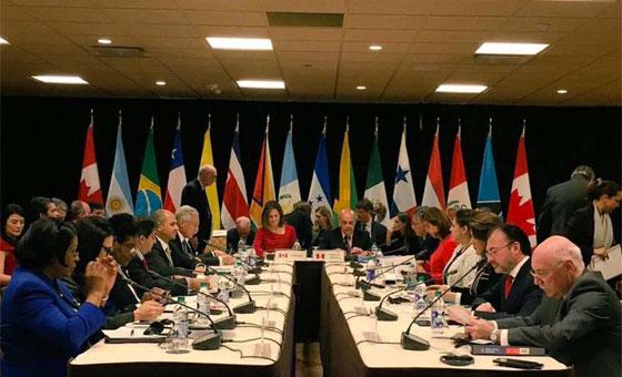 Grupo de Lima repudia ingreso del régimen de Maduro al Consejo de DDHH de la ONU