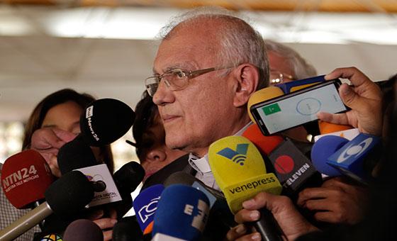 Cardenal Porras exige a Bachelet actuar en casos de violación a DDHH