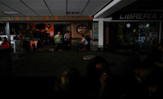 Falla eléctrica afecto varias zonas de la Gran Caracas