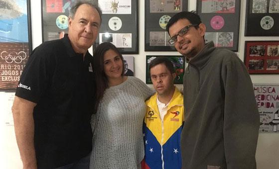 Humano Derecho con: Juan Nadal y Orlando Ruggiero, representantes de Olimpiadas Especiales Venezuela