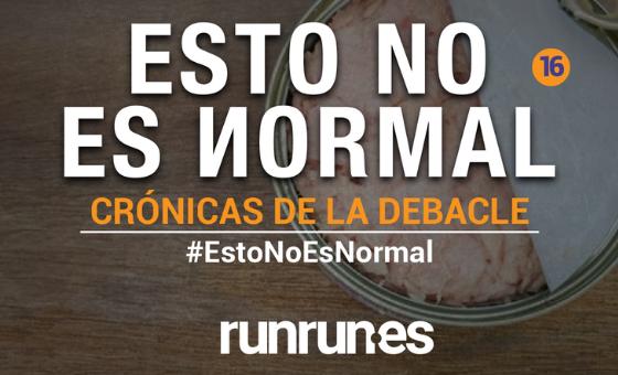 #EstoNoEsNormal | La lata de atún y el apagón, por Katherine Pennacchio