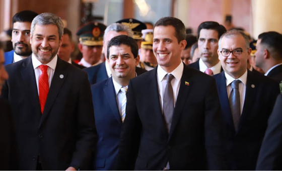 Presidente de Paraguay reafirmó su respaldo a Guaidó