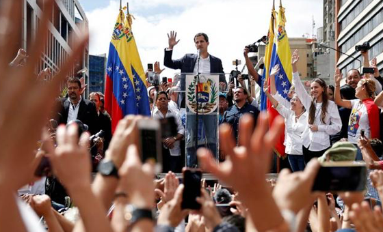 Juan Guaidó juramentó a todos los Comités de Ayuda y Libertad
