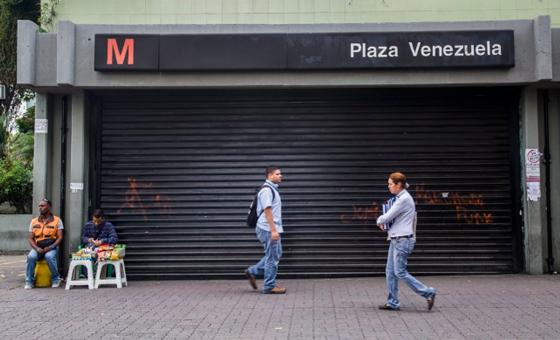 Metro de Caracas no presta servicio comercial este #23Jul por apagón nacional