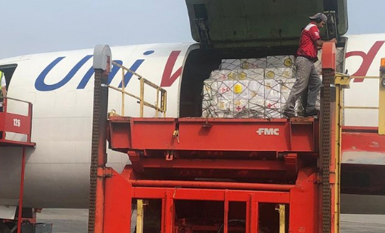 Llegó a Maiquetía el primer lote de ayuda humanitaria de la Cruz Roja
