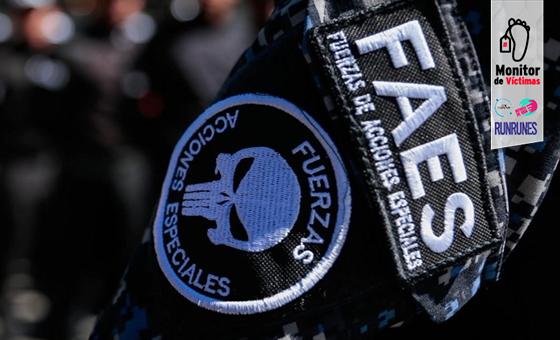#MonitorDeVíctimas | Con masacre de 7 personas las FAES vengaron homicidio de un jefe policial