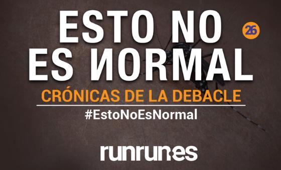 #EstoNoEsNormal   Los mosquitos y el canto anticipado, por Toto Aguerrevere