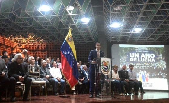 Juan Guaidó:  Es momento de unir más fuerzas y crear un bloque sólido para enfrentar