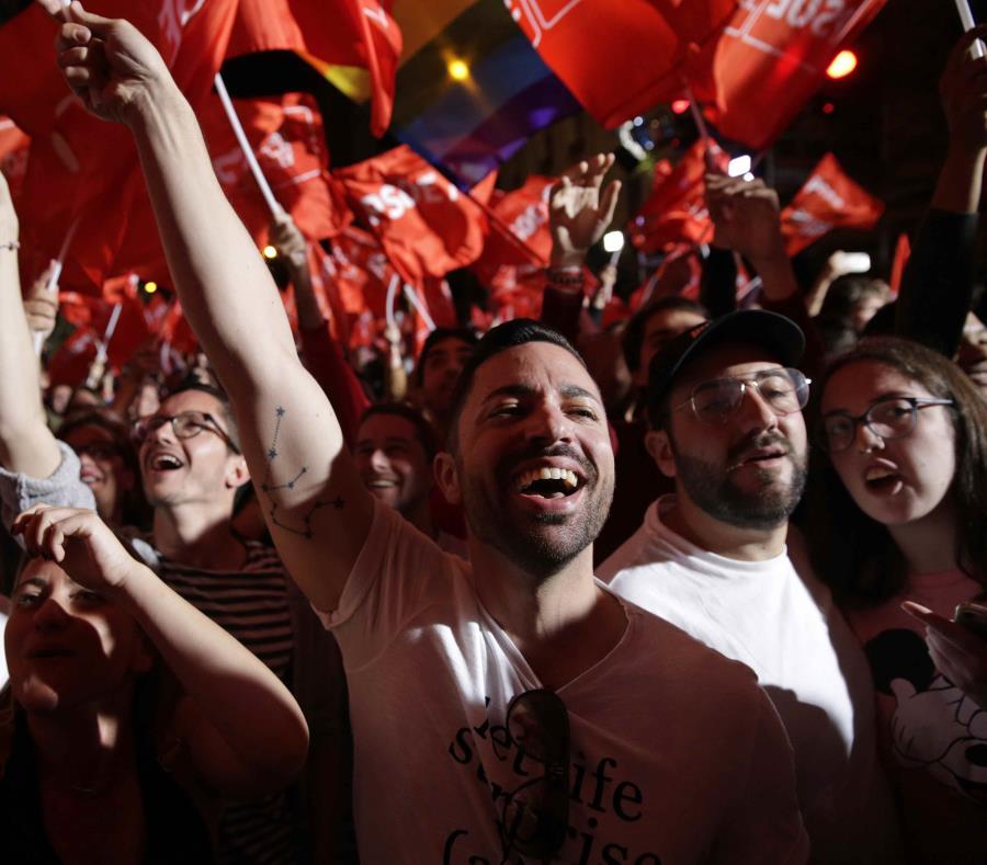 El Psoe gana las elecciones en España y la ultraderechista Vox entra al Parlamento