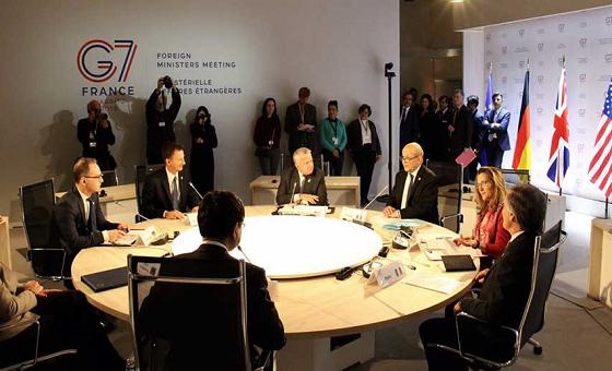 """G7 pide restablecimiento """"total"""" del orden democrático en Venezuela"""