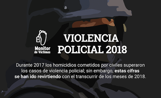 #MonitordeVíctimas | La policía cometió la mitad de los homicidios ocurridos en Caracas en 2018