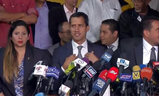 Guaidó habla sobre fallas de cálculo del levantamiento cívico-militar del 30 de abril