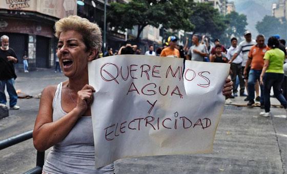 Cedice: los servicios públicos se encuentran al borde del colapso en Venezuela