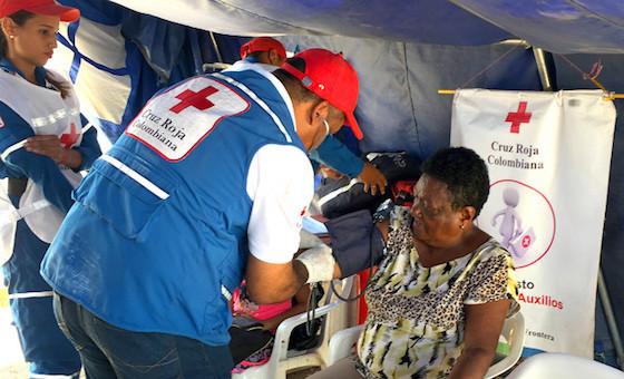 Cruz Roja colombiana atendió a más de 800 mil migrantes en casi 2 años