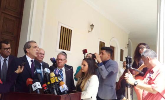 Biagio Pilieri: Insistimos en la necesidad de aprobar la reincorporación en el TIAR