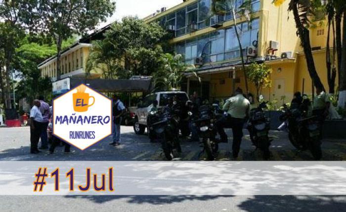 El Mañanero de hoy #11Jul: Las 8 noticias que debes saber