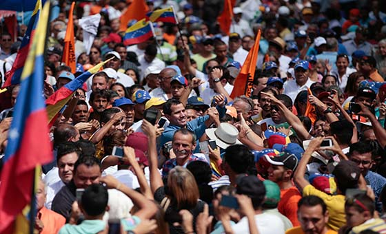 Juan Guaidó desde Guárico: La democracia no es un regalo, siempre va a estar en juego