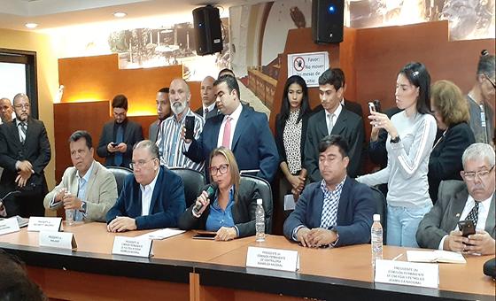 Diputada Fernández: El quórum está garantizado a pesar de la persecución