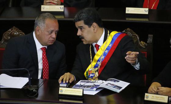 AP: EE UU hace contacto secreto con Diosdado Cabello