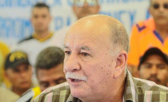 Inaesin responsabiliza a militares por condena de sindicalista Rubén González