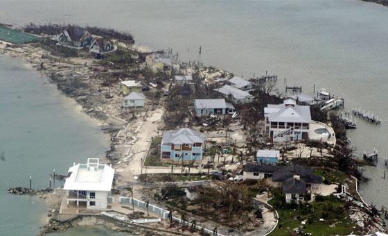 Se le eleva a 20 la cifra de fallecidos en Bahamas por huracán Dorian