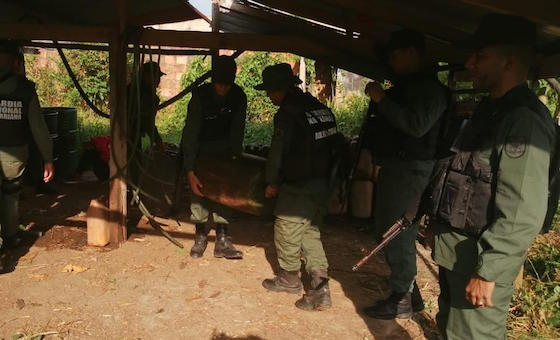 Mueren dos miembros de Los Rastrojos y desmantelan base de comunicaciones del grupo en Táchira