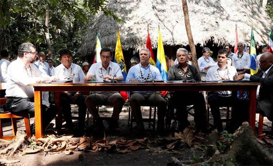 Gobiernos latinoamericanos firmaron pacto para preservar recursos de Amazonía