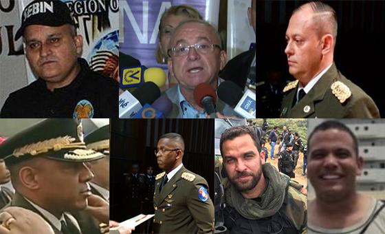 PERFIL | Estos son los funcionarios de seguridad de Maduro sancionados por la Unión Europea