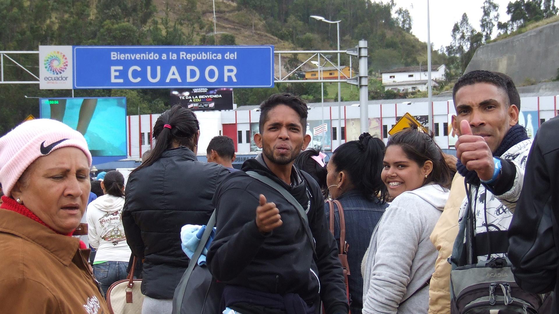 Casi 600 mil venezolanos cruzaron la frontera en los últimos 4 meses
