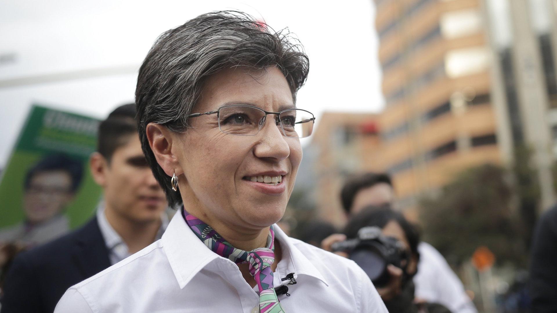 Claudia López se convierte en la primera alcaldesa electa en Bogotá