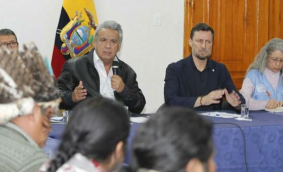 Culminan protestas en Ecuador tras negociación entre indígenas y gobierno de Lenin Moreno