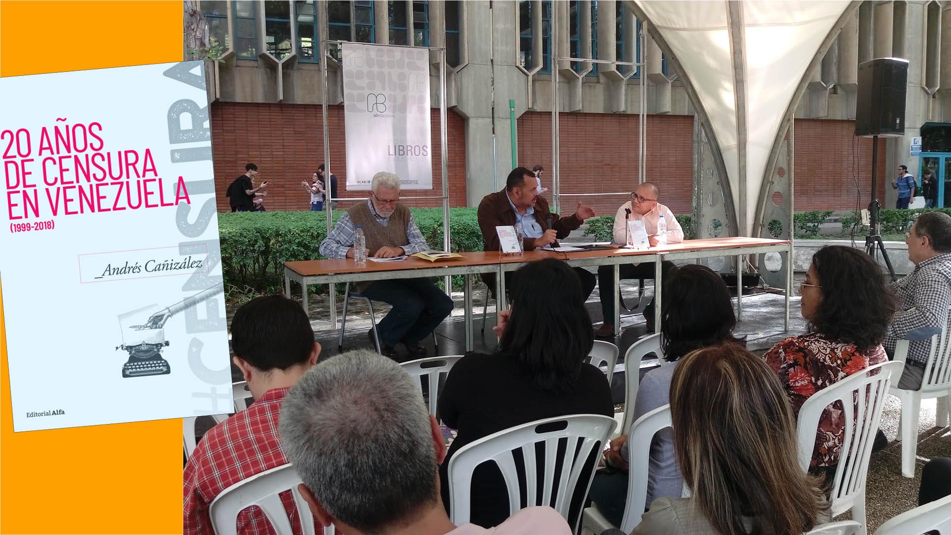 Inventario sobre la censura en Venezuela en dos décadas de chavismo