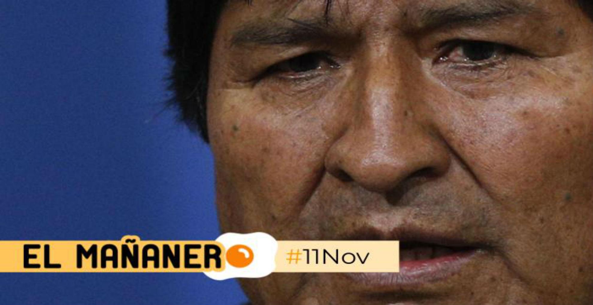 El Mañanero de hoy #10Nov: Las 8 noticias que debes saber