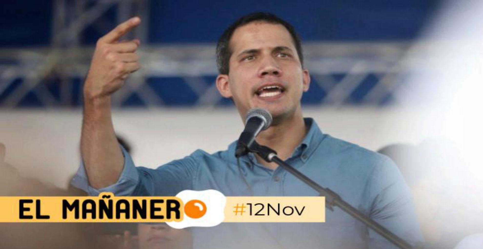 El Mañanero de hoy #12Nov: Las 8 noticias que debes saber