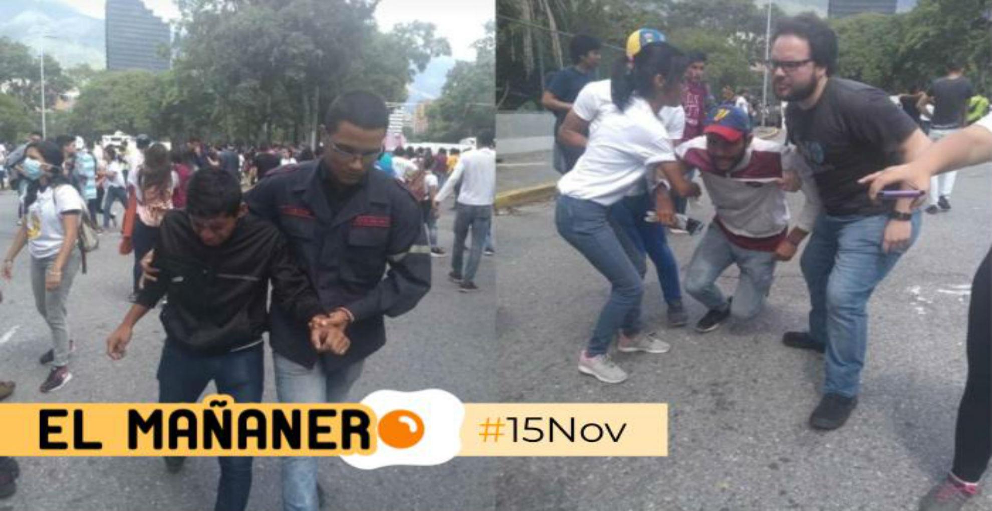 El Mañanero de hoy #15Nov: Las 8 noticias que debes saber