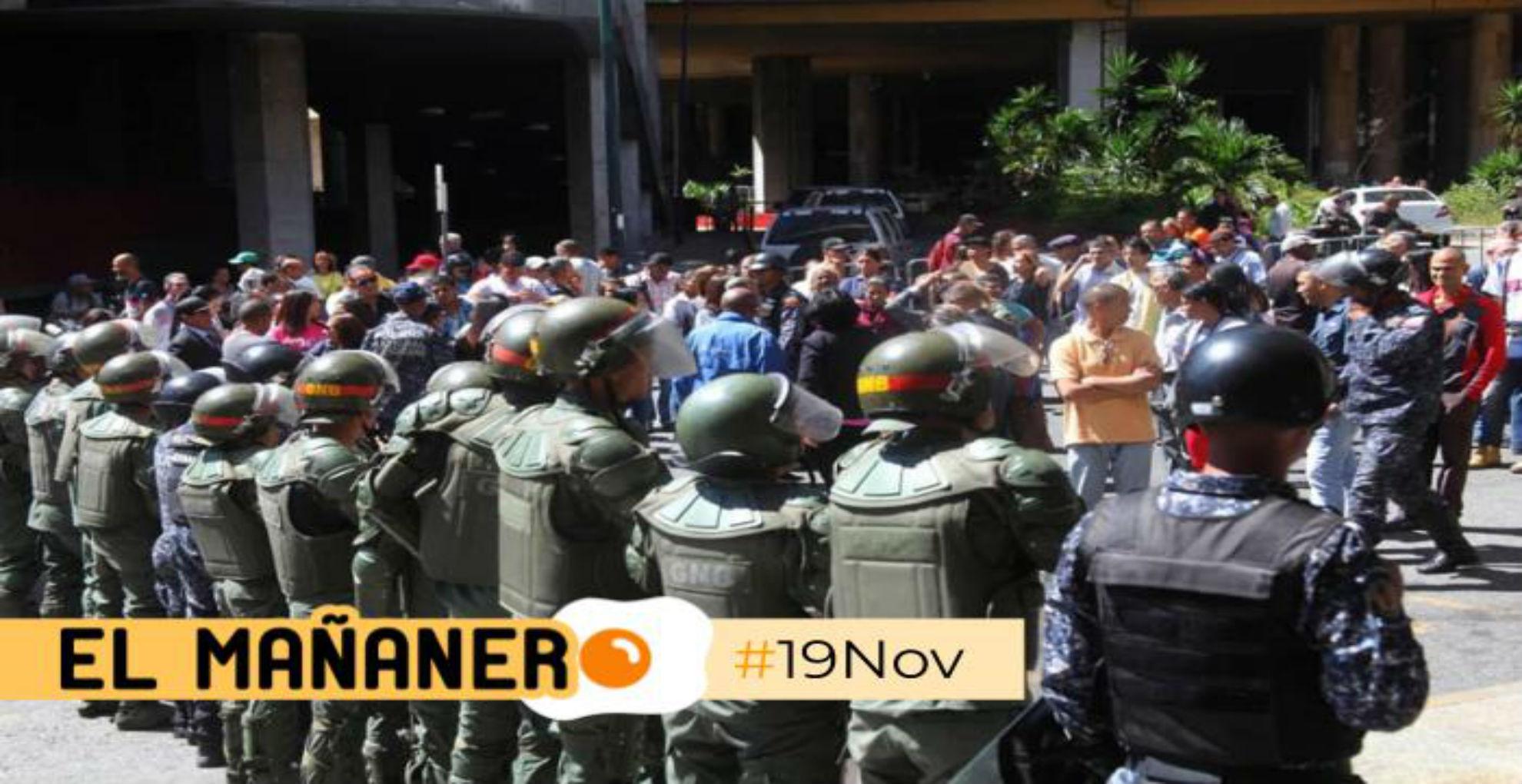 El Mañanero de hoy #19Nov: Las 8 noticias que debes saber