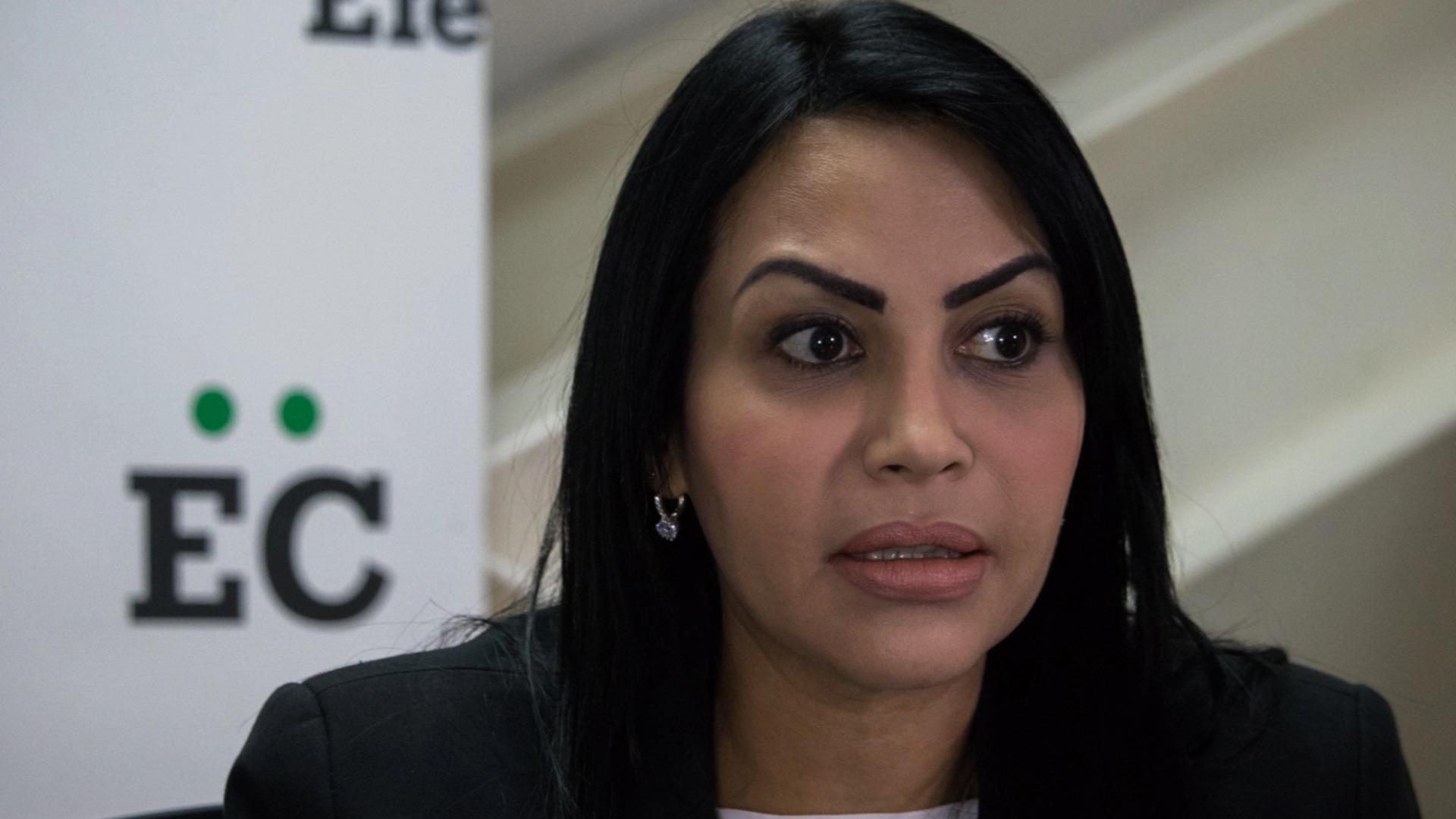 Delsa Solórzano: Exigimos fe de vida de Gilber Caro y Víctor Ugas