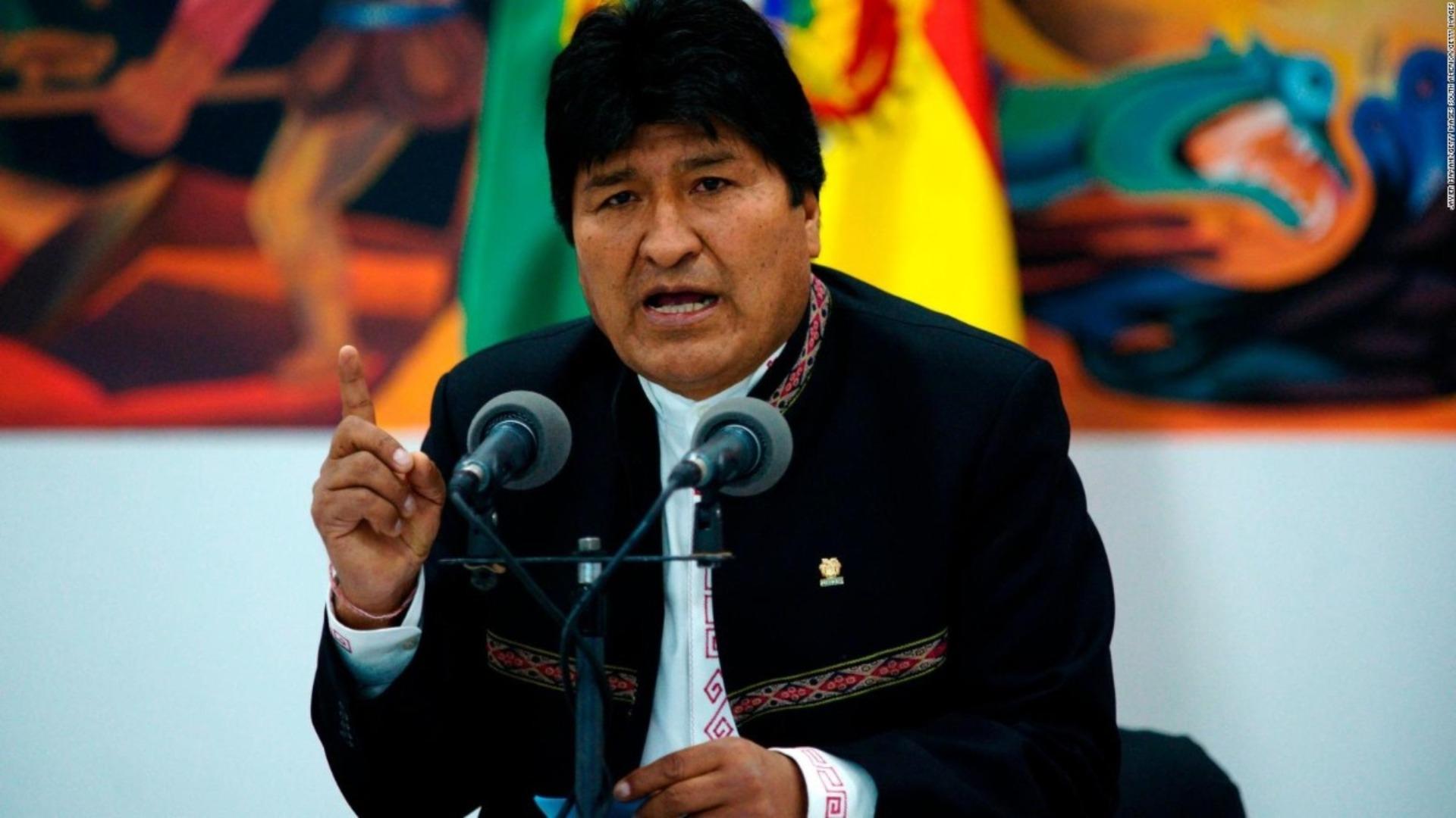 Fiscalía de Bolivia dicta orden de detención contra Evo Morales