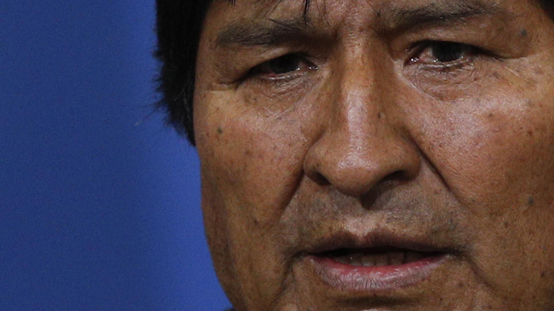 Órgano electoral de Bolivia echó para atrás la candidatura de Evo Morales al Senado