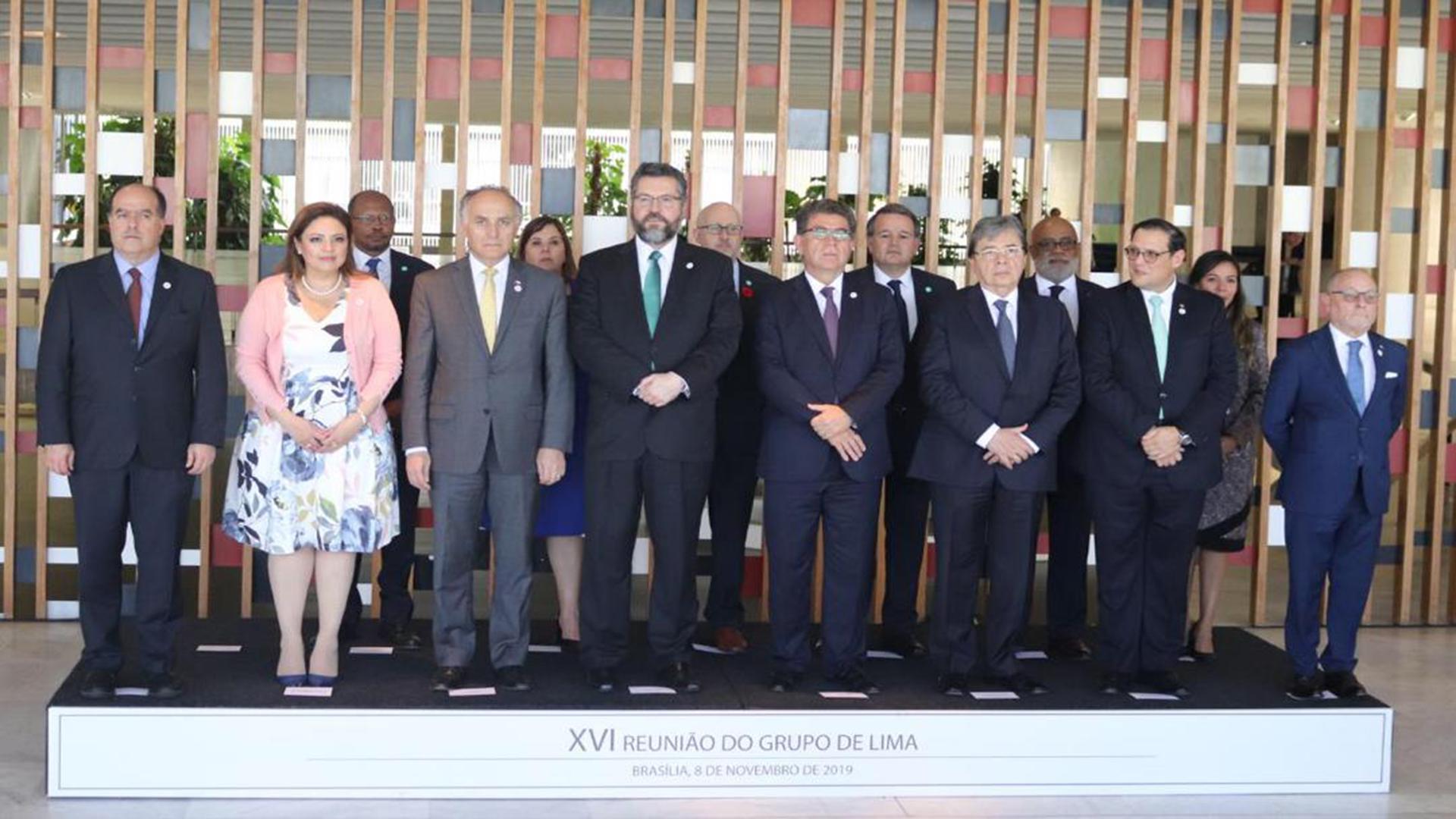 Grupo de Lima no reconocerá a parlamentarios electos por un CNE ilegal